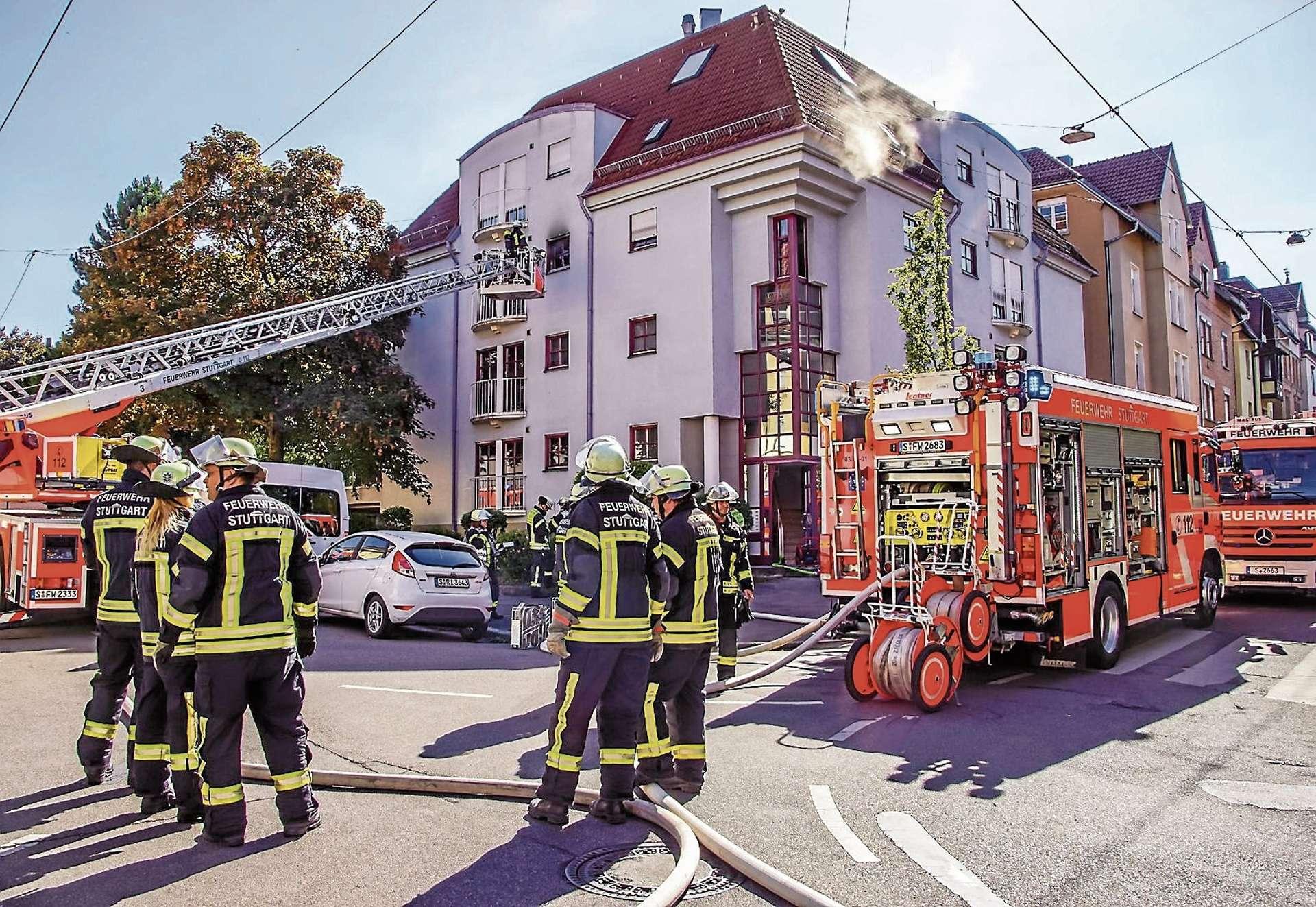 GABLENBERG: 70-Jährige aus Gebäude in der Klingenstraße