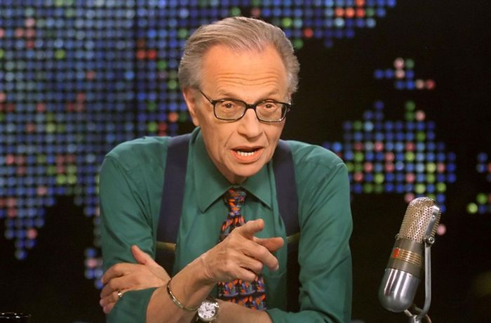 Legendärer TV-Journalist: Talkshow-Moderator Larry King gestorben
