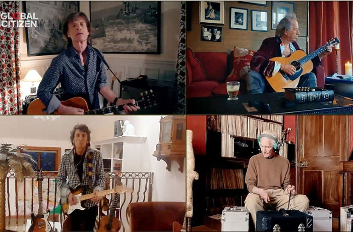 """One World: Together at Home"": Hausmusik mit den  Stones, Paul McCartney und Billie Eilish"